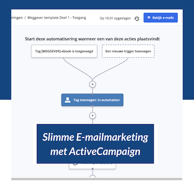 Slimme E-mailmarketing met ActiveCampaign